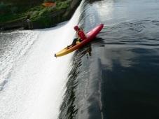 Dam dropping